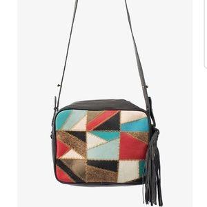 Cleobella Robin Patchwork crossbody leather bag